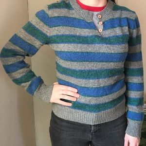 Sweaters - Vintage striped early 80's sweater